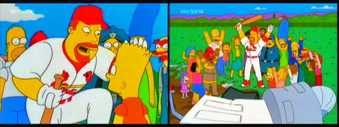 Major League Baseball Players Amp The Simpsons Ninety
