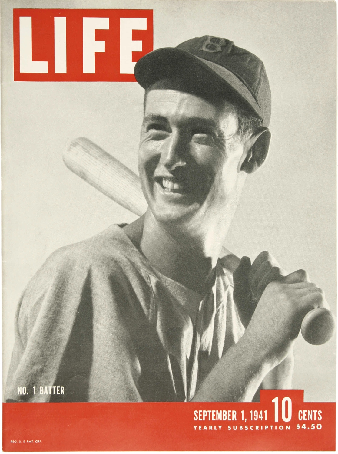 Ted Williams.   ninety feet of perfection.