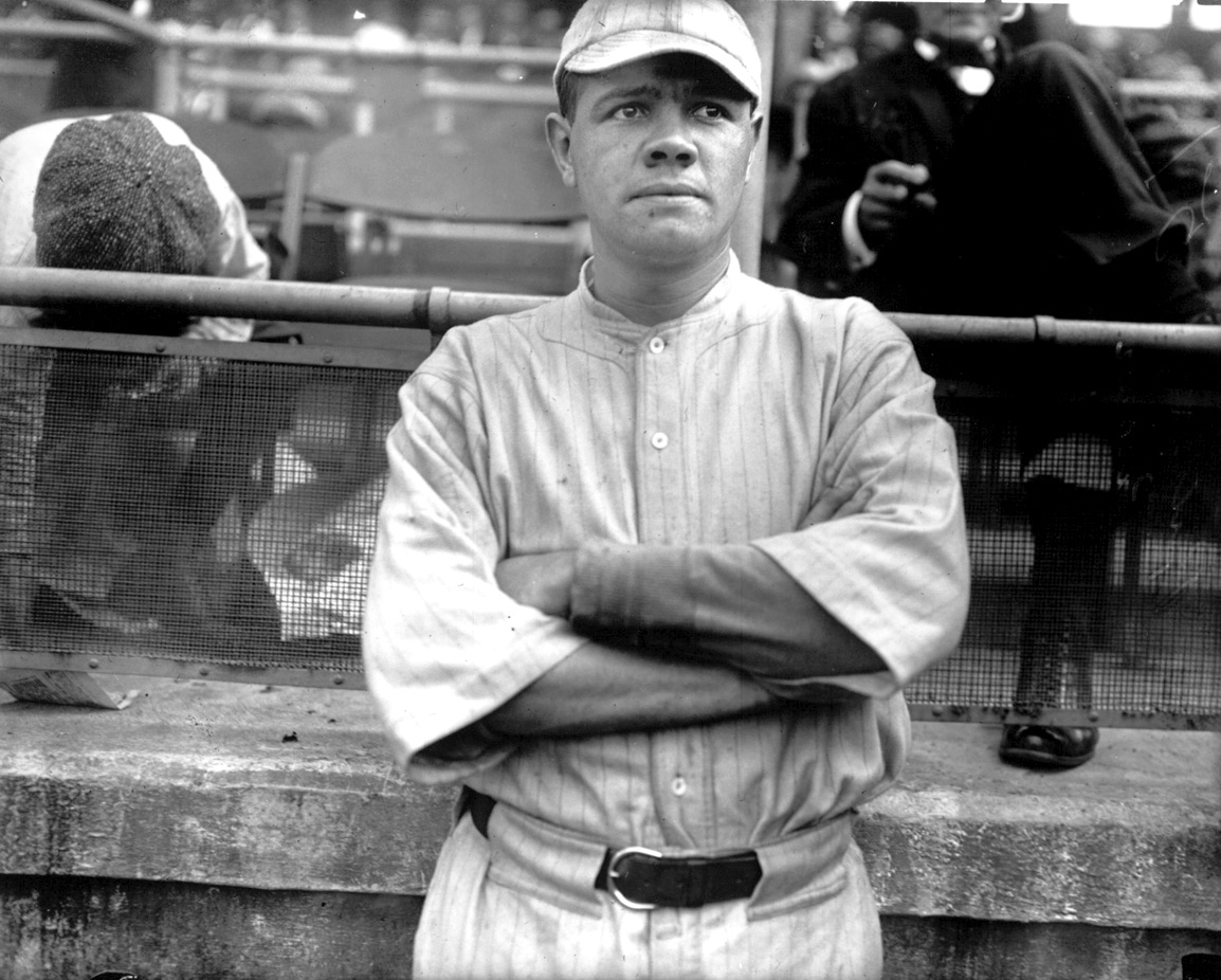 Was Babe Ruth White