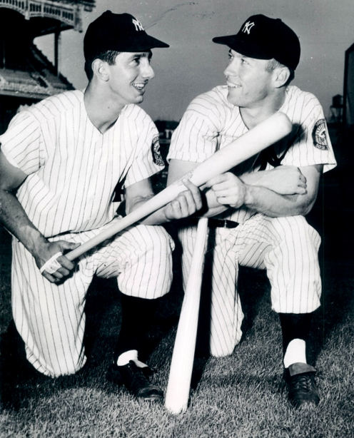 Mickey Mantle Billy Martin 1952