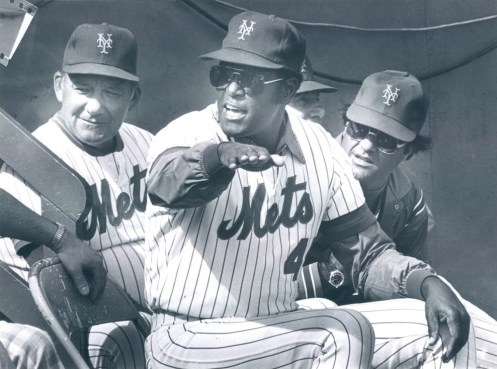 bob gibson 1981 with mets