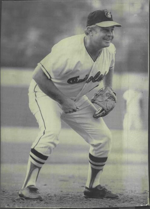 Earl Weaver 1969 Glove