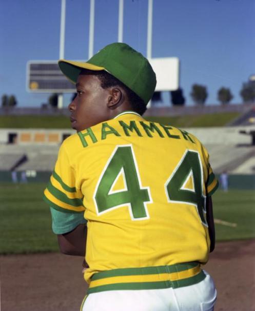 MC Hammer A's batboy 1975