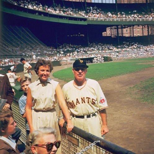 Leo Durocher & Wife