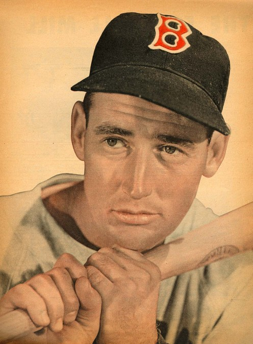 Ted Williams Close Up