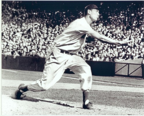 Ted Williams On Mound