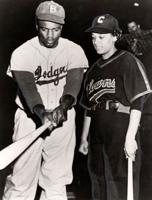 Jackie Robinson Connie Morgan