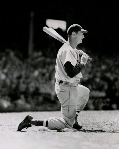 Ted Williams waiting