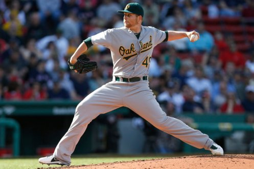 Brett Anderson Oakland Athletics