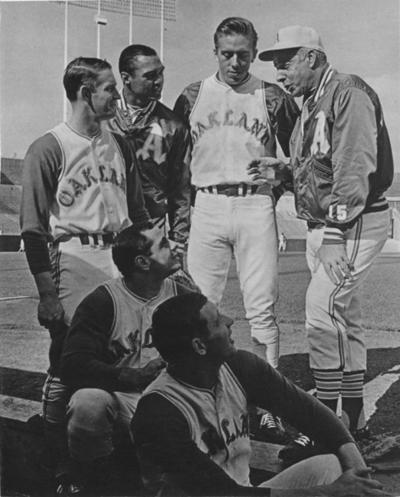 1968 Oakland Athletics Joe DiMaggio