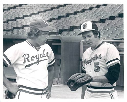 Brooks Robinson & George Brett