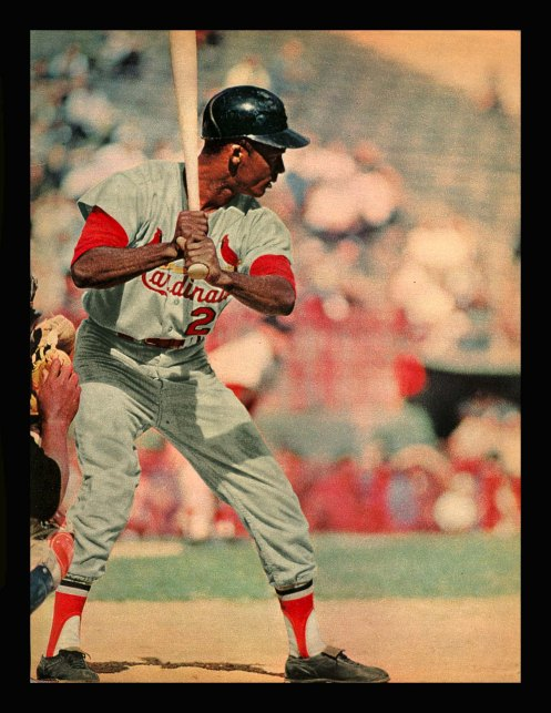 Curt Flood in color