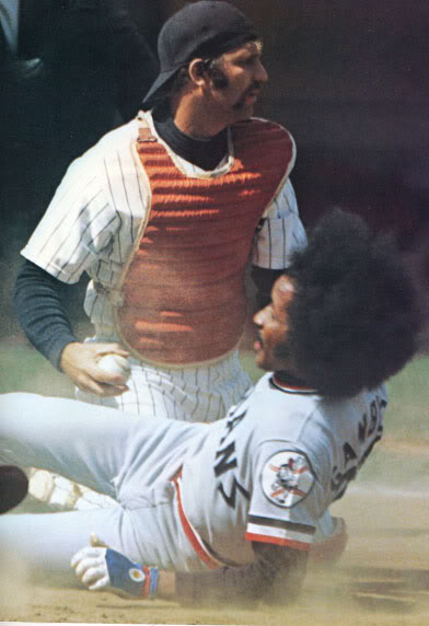 Thurman Munson & Oscar Gamble 1974