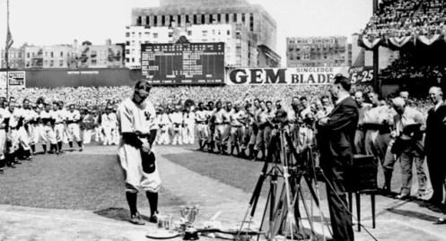 Gehrig Retires 1939