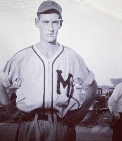 Ted Williams Millers Rare Photo