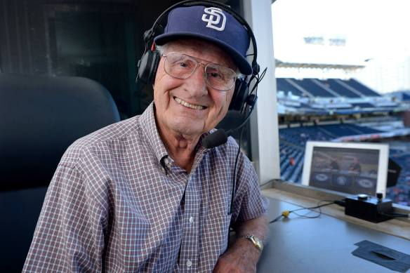 Jerry Coleman in Booth