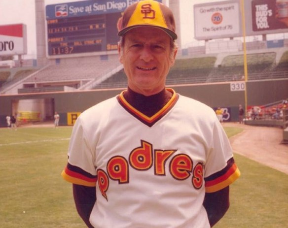 Jerry Coleman Padres Manager'
