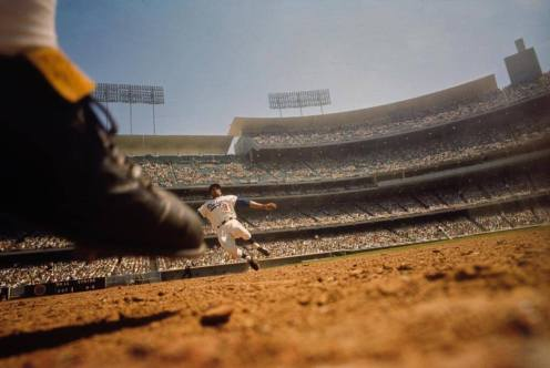Willie Davis Slide (Neil Leifer)