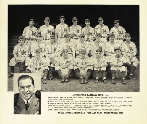 1938 Minneapolis Millers (Ted Williams)