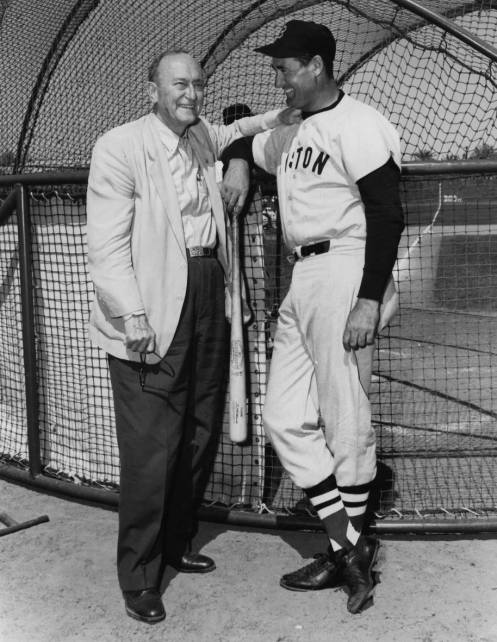 Ty Cobb and Ted WIlliams