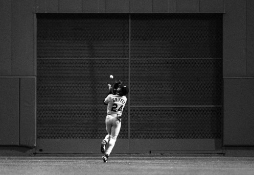 Griffey catch