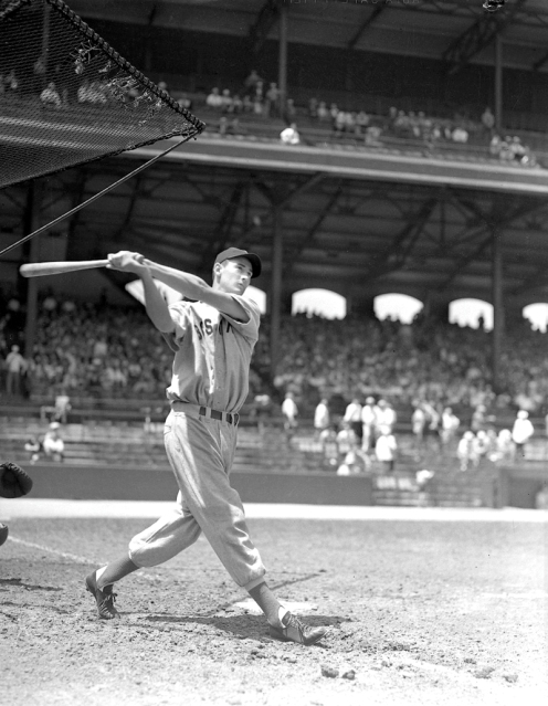 Ted Williams BP