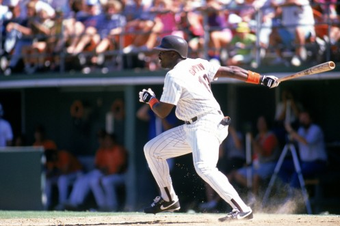Tony Gwynn Swing Follow Through