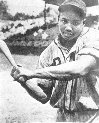 Josh Gibson Homestead Grays pose