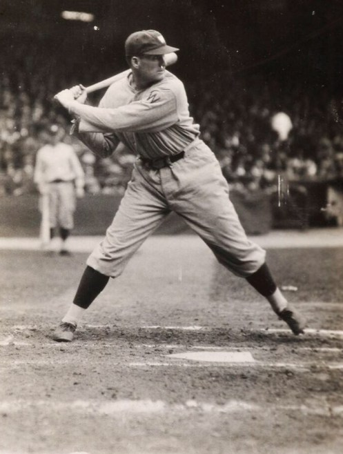 Walter Johnson Batting