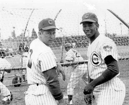 Ron Santo & Ernie Banks