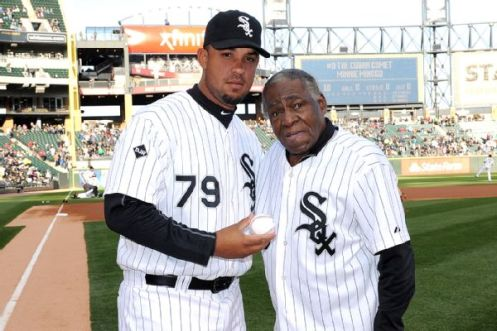 Minnie Minoso & Jose Abreu