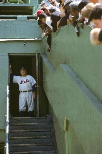 Casey Stengel Polo Grounds. 1962.