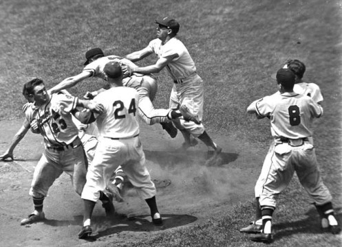 Dodgers Braves Brawl 1957