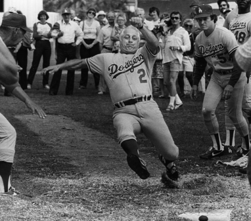 Tommy Lasorda Slide