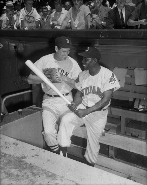 Ted Williams Minnie Minoso