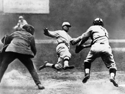Ty Cobb Steals Home Against Boston