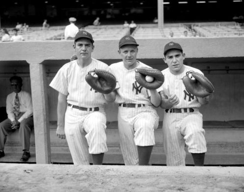 1947 Yankees Catchers