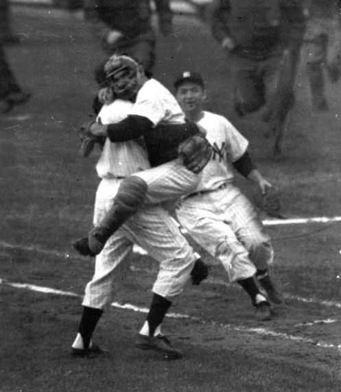 1956 World Series, Yogi and Don Larsen