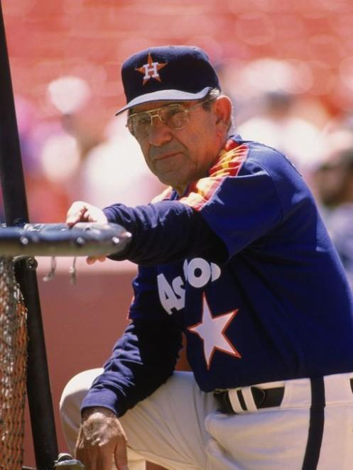 Yogi Berra Astros Coach