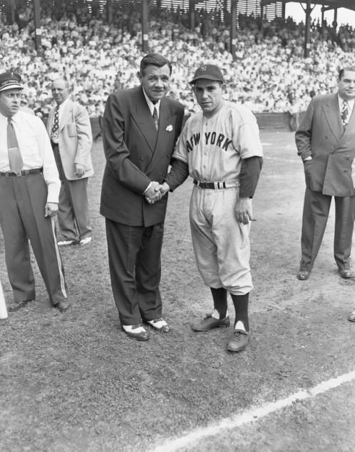 Yogi Berra Babe Ruth