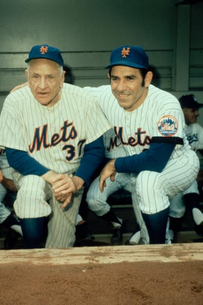 Yogi Berra Casey Stengel Mets