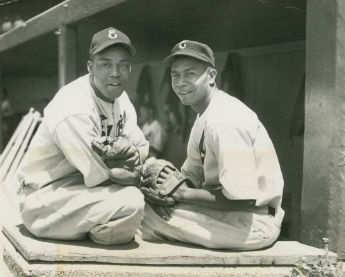 1947 Monte Irvin & Larry Doby Newark Eagles